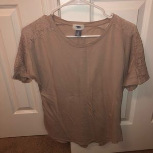 Old Navy Lace Detail T-shirt